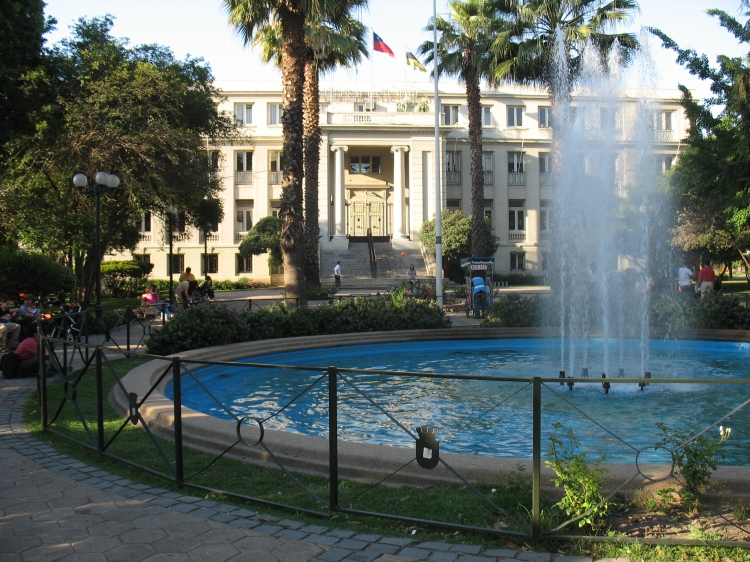 The Municipality of Ñuñoa in Plaza Ñuñoa.